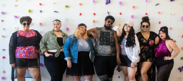 "Cake Plus-Size Resale presents: ""Fat Festival Fashion."" (Courtesy of Fashion Week MN)"
