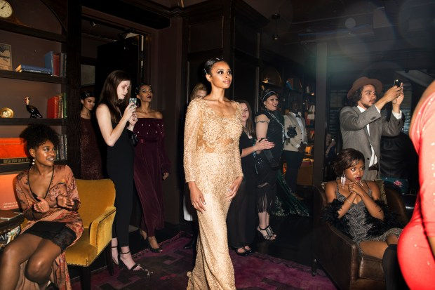 "Culture Piece Magazine presents: ""New Aged Noir."" (Courtesy of Fashion Week MN)"