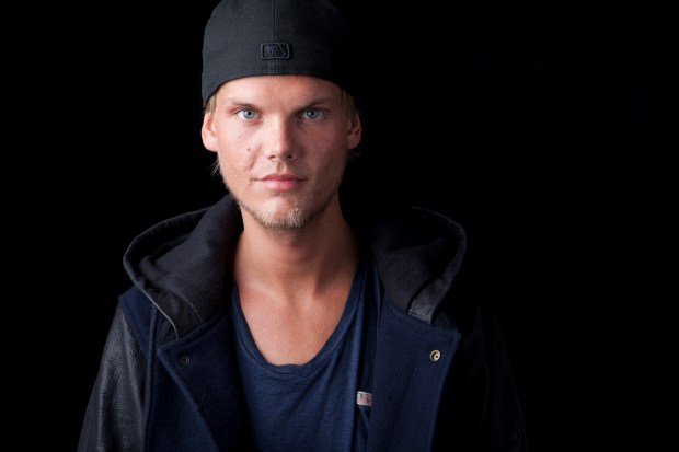 Swedish DJ-producer Avicii poses for a portrait