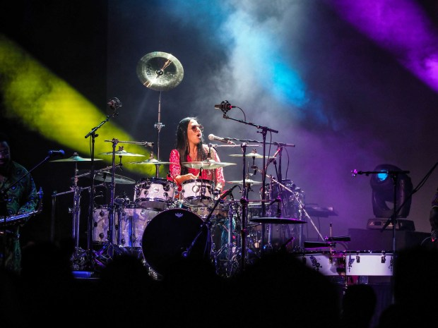 Sheila E. performs in the Iconic Soundstage during Celebration 2018 at Paisley Park in Chanhassen, Minn. on Thurday, April 19, 2018. (Courtesy of Steve Parke / Paisley Park Studios)