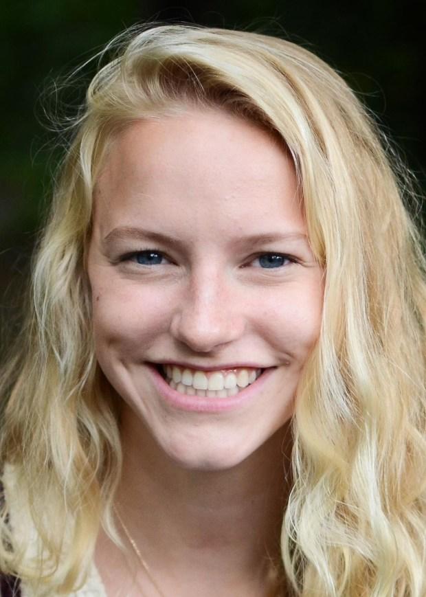 2018 Athena award winner Haley Orf of Woodbury.