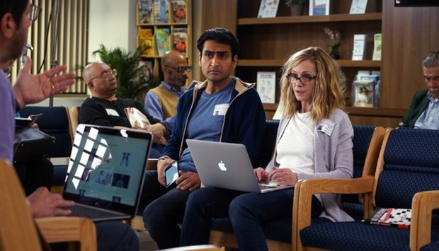 "Kumail Nanjiani and Holly Hunter in ""The Big Sick."" (Lionsgate)"