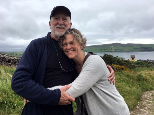 Nick Coleman and his wife, Laura Billings Coleman, during a 2017 trip to Dingle, County Kerry, Ireland. Nick Coleman, a former St. Paul Pioneer Press columnist, suffered a massive stroke on May 13, 2018. (Courtesy of Laura Billings Coleman)