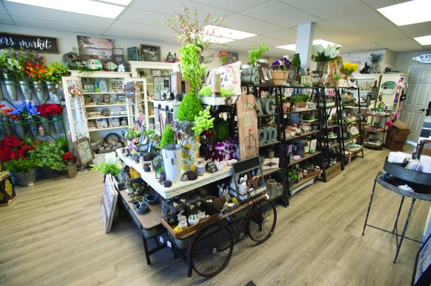 Forever Gifts and Boutique at the far end of downtown Prescott packs a lot of goodness in a quaint space. Offerings include home and garden accents, bath and body products one-of-a-kind handcrafted pieces from local artisans in Prescott Thursday, April 19, 2018. (Special to the Pioneer Press: Craig Lassig)