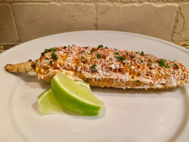 Wood-Grilled Elote at Tejas Express (Courtesy of the Minnesota State Fair)