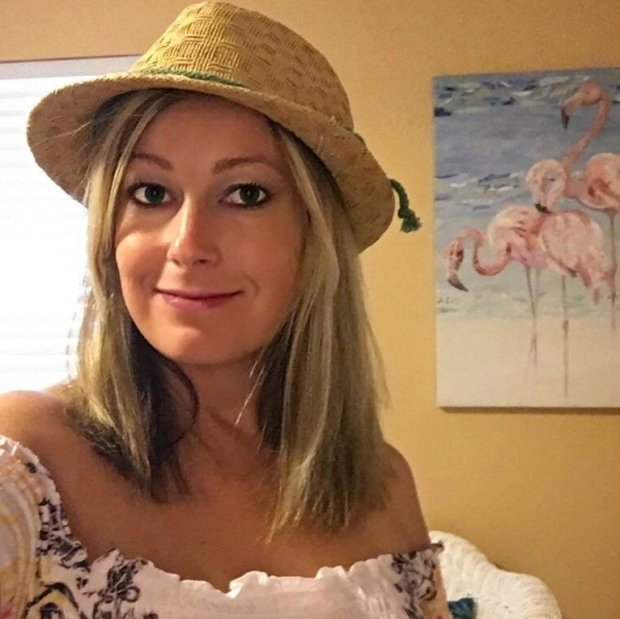 This photo provided by the Baltimore Sun shows Rebecca Smith, a sales assistant at The Capital Gazette.  Smith was one of the victims when an active shooter targeted the newsroom, Thursday, June 28, 2018 in Annapolis, Md.  (The Baltimore Sun via AP)