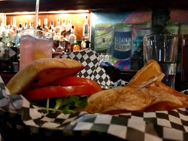 The ham sandwich at Brunson's Pub, taken in May 2018. (Jess Fleming / Pioneer Press)