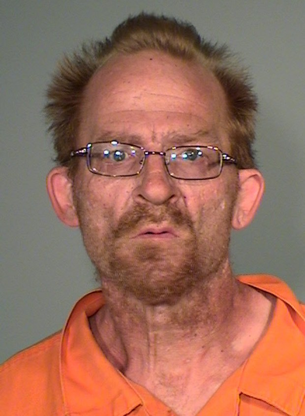 Brian Lee Liston, 45 (DOB 09/10/1972) was charged Monday (06/11/2018) with second-degree arson and first-degree criminal damage to property. The St. Paul man is accused of setting fire to a St. Paul police squad car during the early morning hours June 8, 2018.