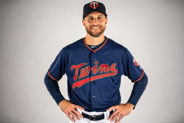 67ef8e58251 The Twins unveiled a new alternate home uniform Wednesday, Jan. 23, 2019.  (Courtesy of Minnesota Twins)