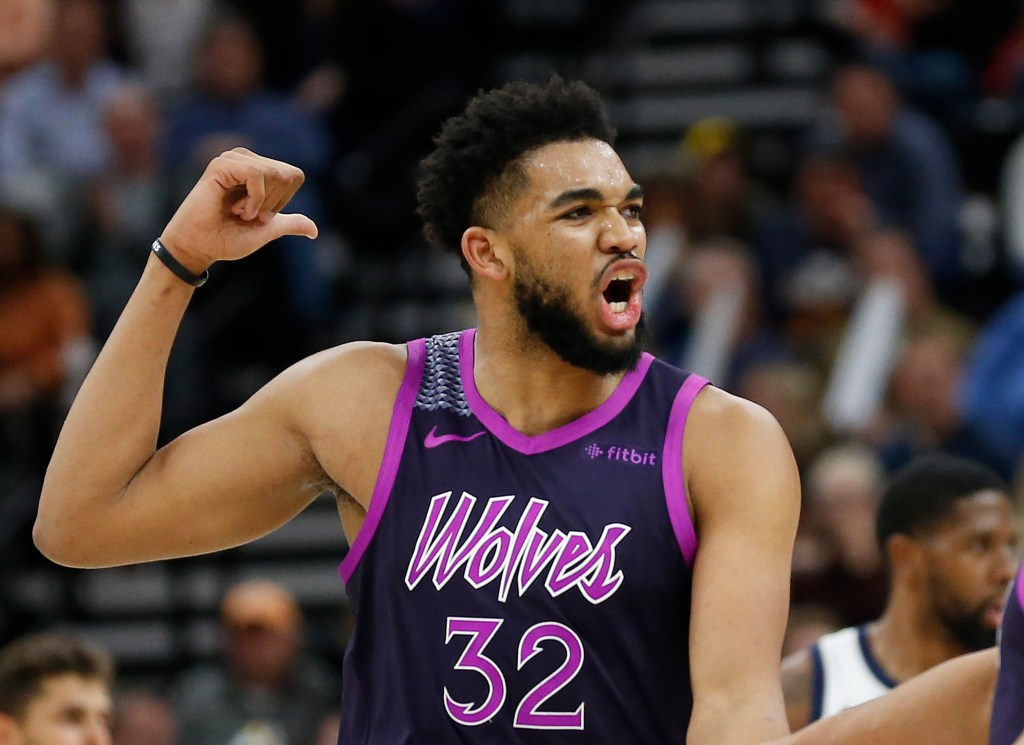 Timberwolves Chief Says Karl Anthony Towns Isn T Done Evolving