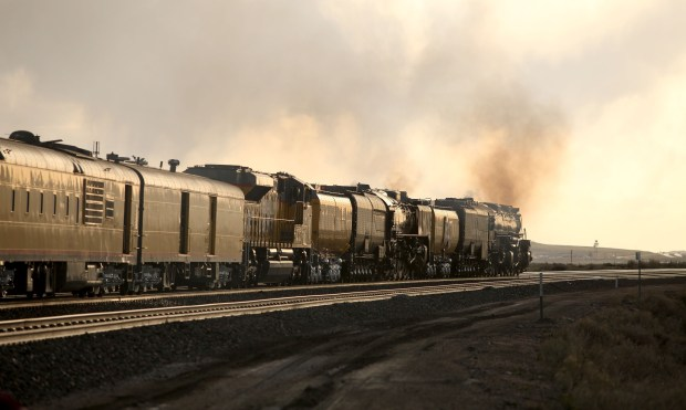 historic locomotive big boy