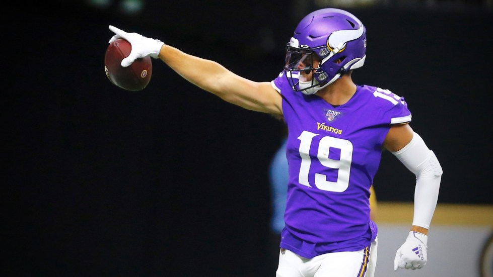 Vikings will need to lean extra hard on receiver Adam Thielen this ...