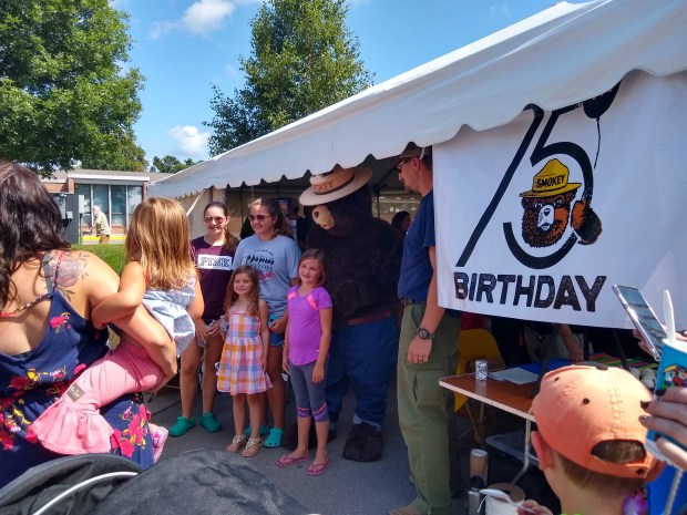 A Q&A with Smokey Bear, who's celebrating his 75th birthday Friday at the Fair