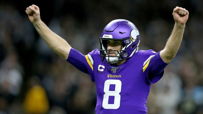 Vikings' Kirk Cousins quiets critics with the right kind of loud ...