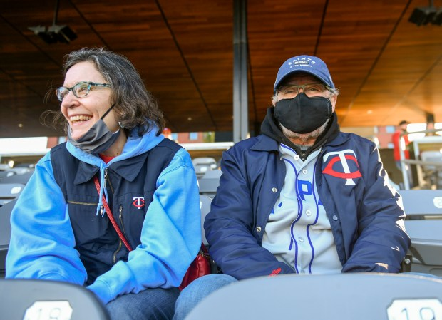 St. Paul Saints' Triple-A opener is small, cozy affair at CHS Field