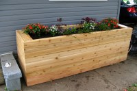 Project Working Idea: Wooden flower boxes plans