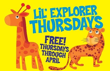 Lil' Explorer Thursdays Como Zoo