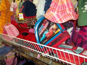 Thrift Store Shopping deals on kids lunchboxes
