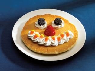 Scary Face Pancake