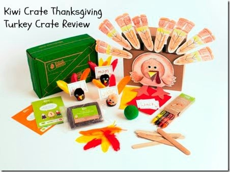 Kiwi Crate Thanksgiving Turkey Crate Review