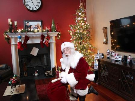 Christmas Freebie Create A Picture Of Santa In Your Home Free