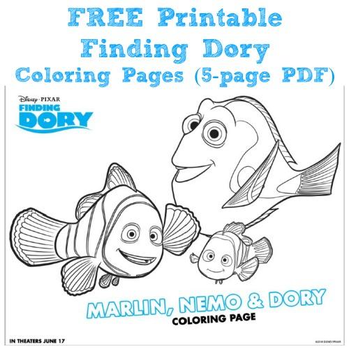 findingdoryfreecoloring