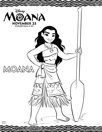 Free Printable Moana Coloring Pages Activity Sheets Twin Cities