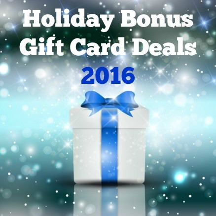 Holiday Bonus Gift Card Deals 2016 Twin Cities Frugal Mom