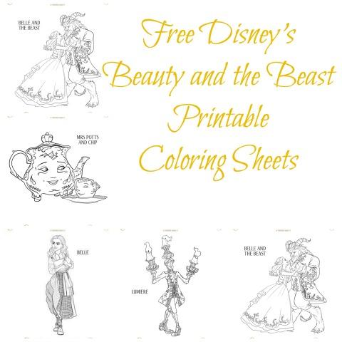 beautybeastcoloringcover