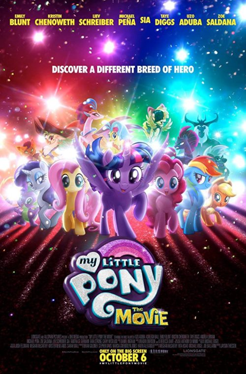 Free printable my little pony the movie coloring pages