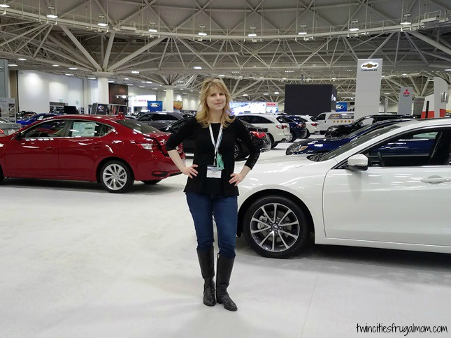 At the Twin Cities Auto Show