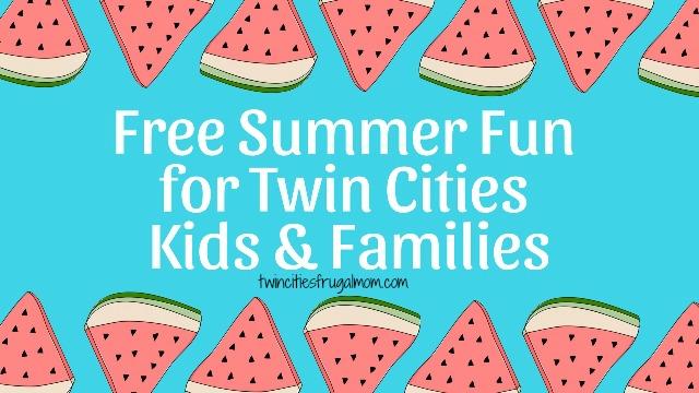 free summer fun twin cities kids