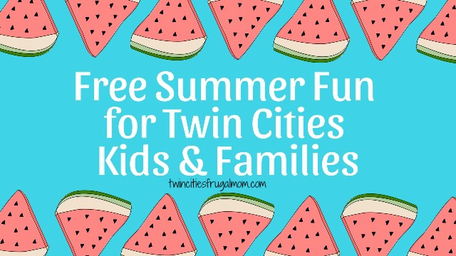 free summer fun twin cities kids