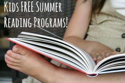 free summer reading programs kids