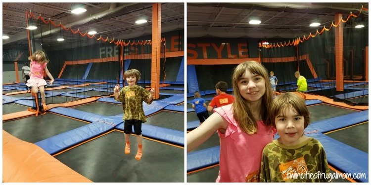 photo regarding Sky Zone Printable Coupons titled Bouncing off the Partitions at Sky Zone - At the moment within Blaine and