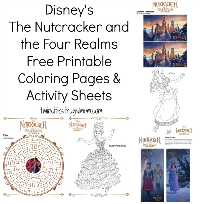 Disney's The Nutcracker Free Printables