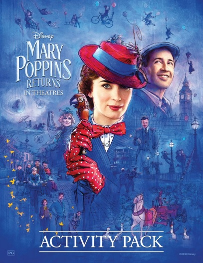 Mary Poppins Returns Free Printable Activity Pack