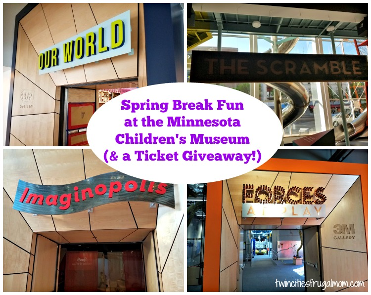 Minnesota Children's Museum Spring Break Giveaway