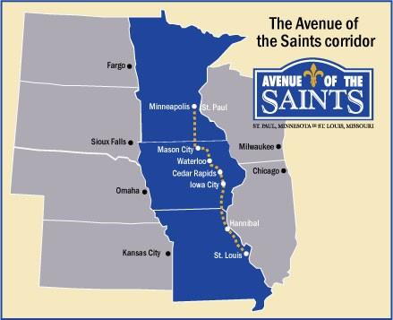 Avenue of the Saints