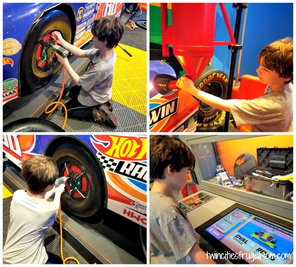 Hot Wheels Minnesota Children's Museum