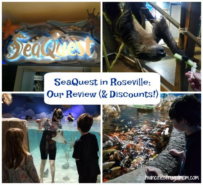 SeaQuest Roseville Review