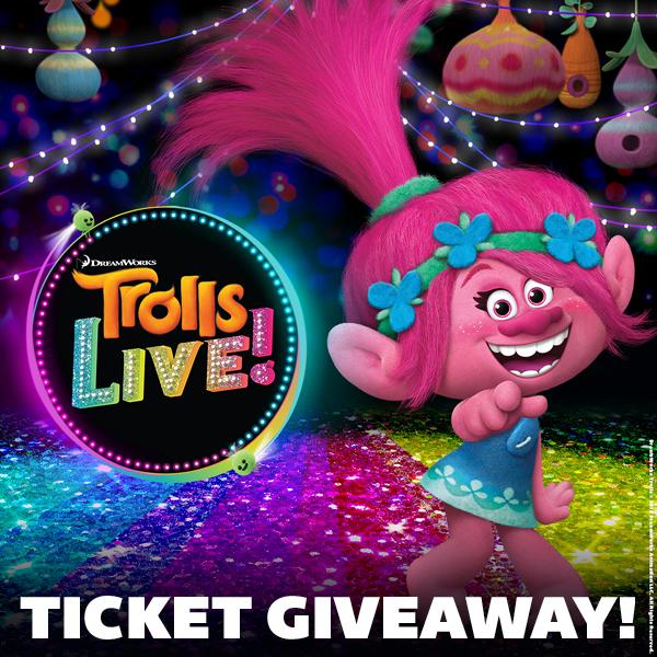 Trolls Live Giveaway