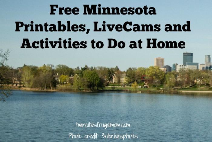 Free Minnesota Printables