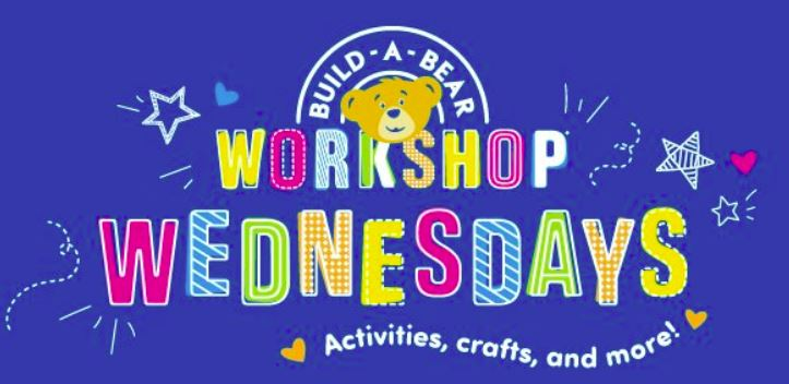 Build a Bear Wednesdays