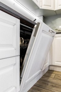 dishwasher door