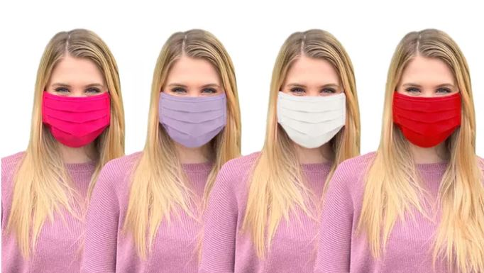 Groupon pleated masks