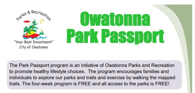 Owatonna Park Passport