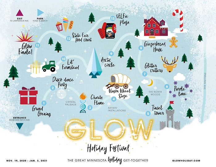 Glow map