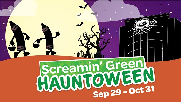 Screamin' Green Hauntoween