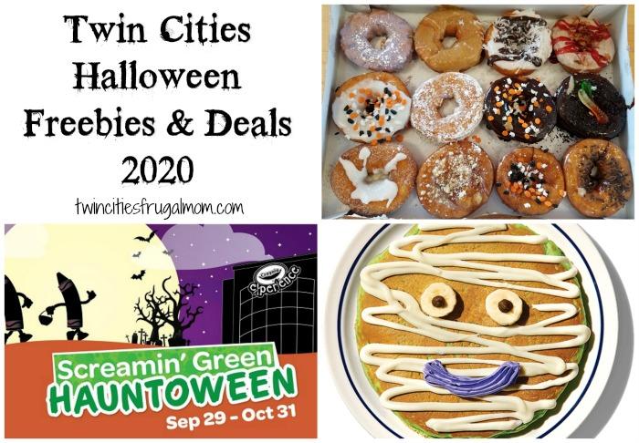 Twin Cities Halloween Freebies Deals 2020